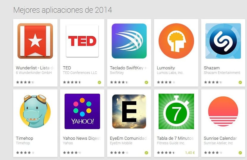 Mejores apps Android 2014