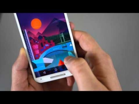 Primer vídeo de Android Lollipop en el Moto X 2014