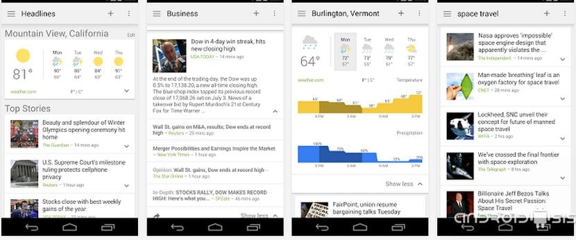 [APK] Google News and Weather versión 2.2