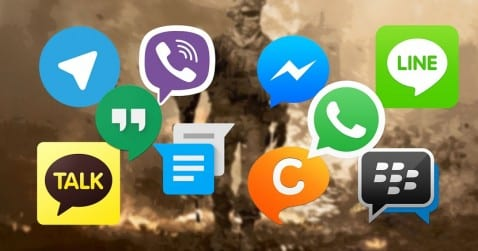 Apps mensajería
