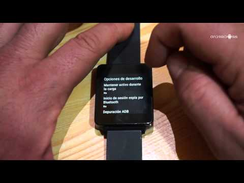 LG G Watch Android 5.0.1 Lollipop