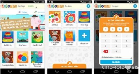 Kidz in Min, o cómo dejar nuestro Android a nuestros hijos pequeños con toda la tranquilidad del mundo