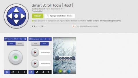 smart scroll tools