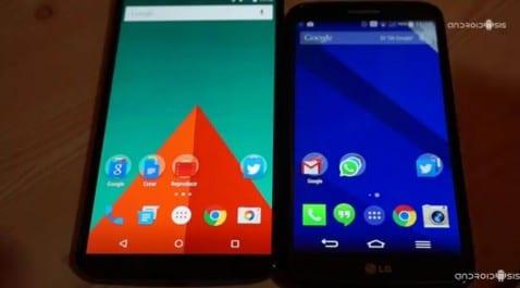 Test de velocidad: Nexus 6 VS LG G2