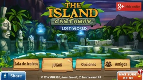 The Island castaway lost world