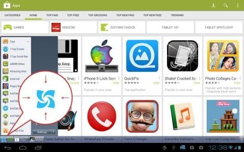 Windows barra de herramientas