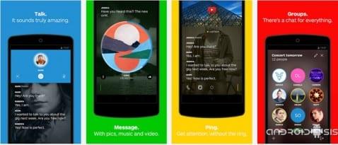 Wire, la aplicación de mensajería instantánea más psicodélica del Play Store