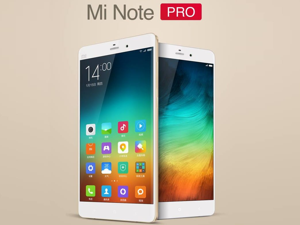 Mi Note Pro Samsung Galaxy Note 4 (3)