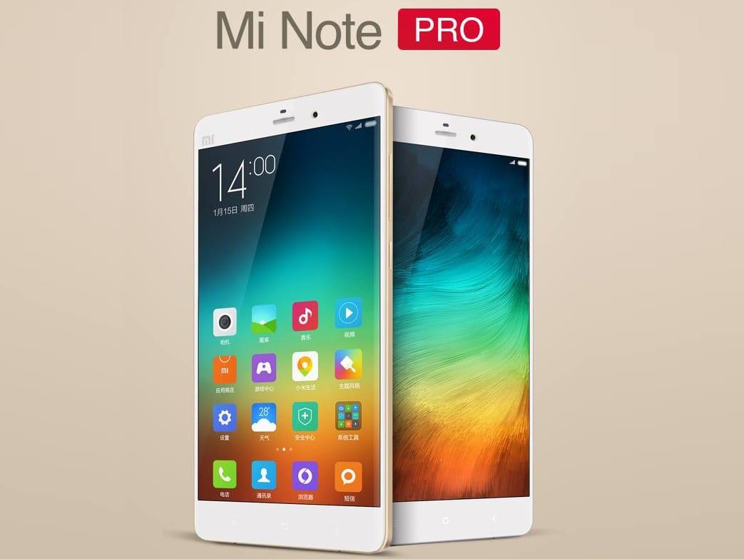 Mi Note Pro Samsung Galaxy Note 4 (3)
