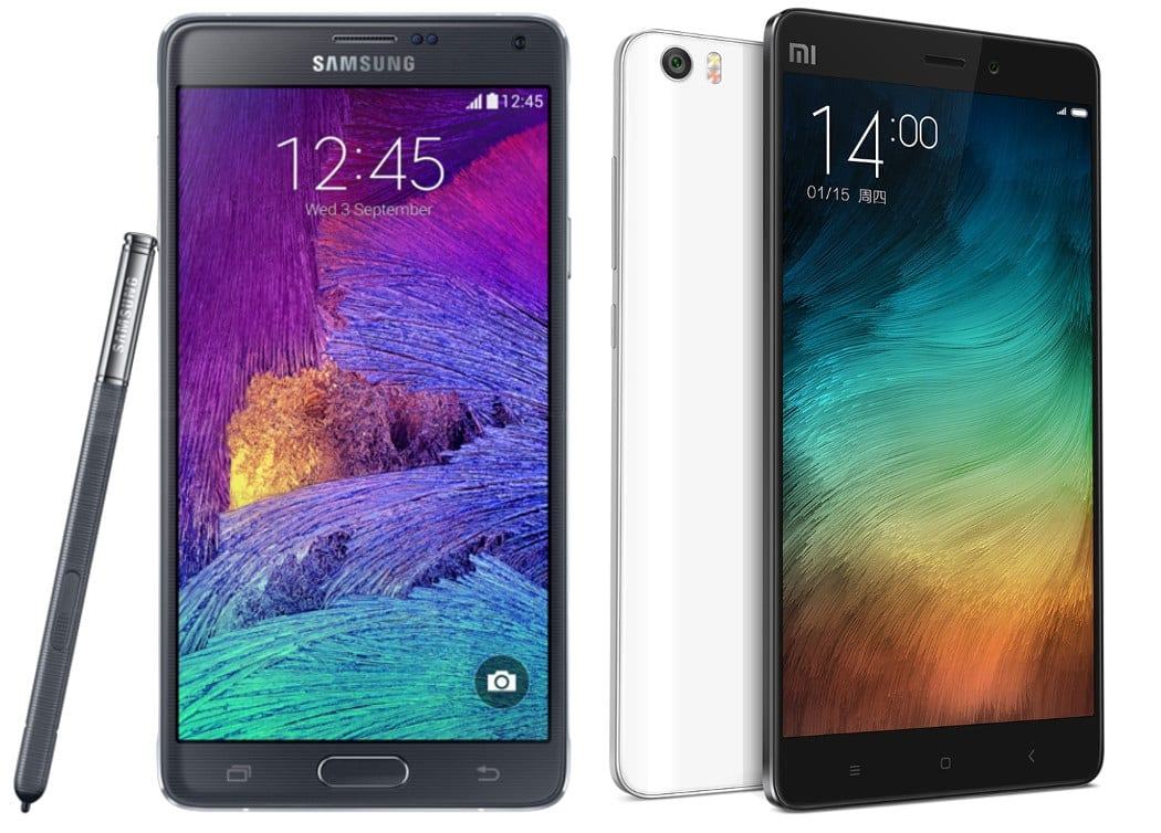 Mi Note Pro Samsung Galaxy Note 4 (4)