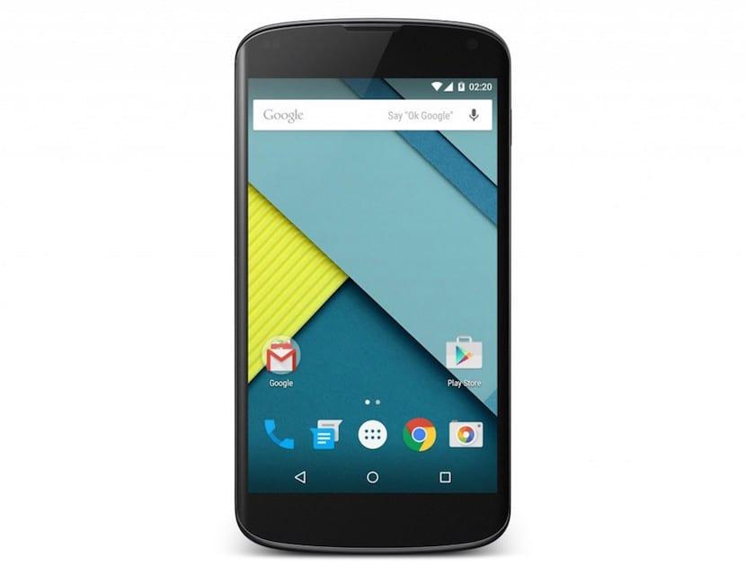 Problemas Nexus 4 Android 5.0.1