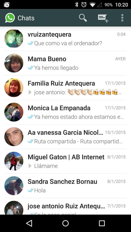 WhatsApp para Android los primeros síntomas de Material Design