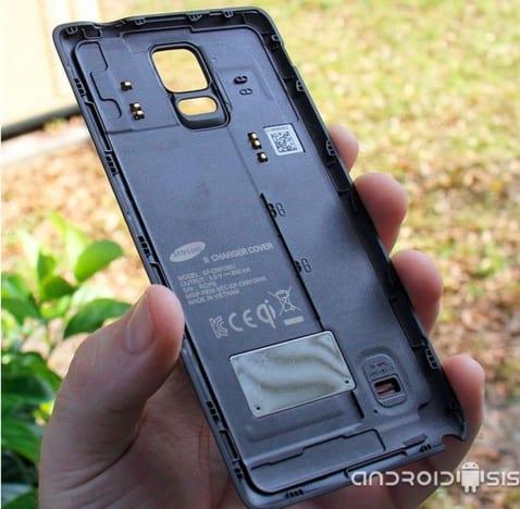 Añádele a tu Samsung Galaxy Note 4 la funcionalidad de carga inalámbica
