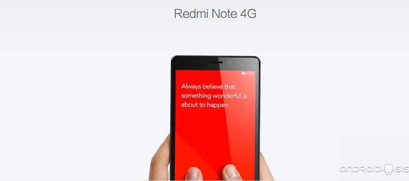 Análisis en profundidad del Xiaomi RedMi Note 4G, probablemente el mejor gama media Android a precio de gama baja