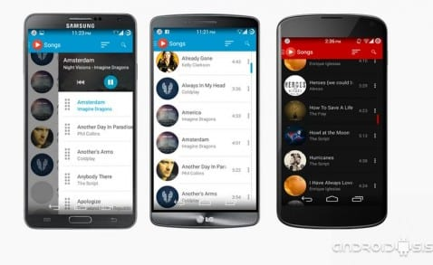 [APK] ACEMusic Player el reproductor Material Design gratis para tu Android