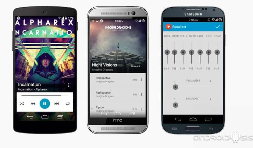 [APK] ACEMusic Player el reproductor Material Design gratis para tu Android