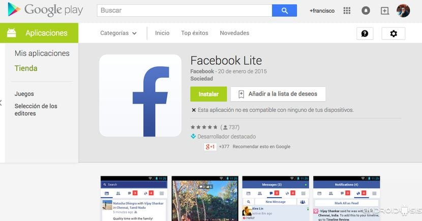Comunicación - Descarga de Apps para Android