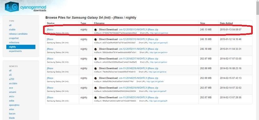 Cómo actualizar el Samsung Galaxy S4 a Android Lollipop mediante CM12