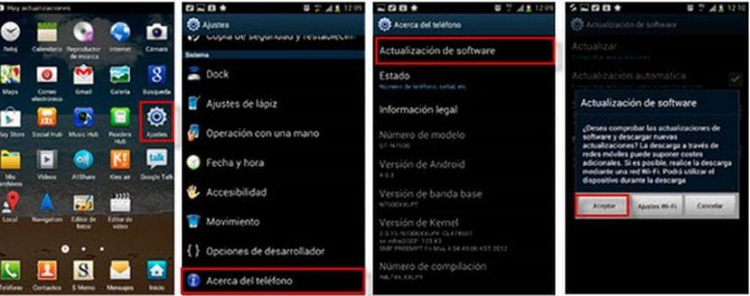 Cómo actualizar el Samsung Galaxy S5 de Vodafone a Android 5.0 Lollipop