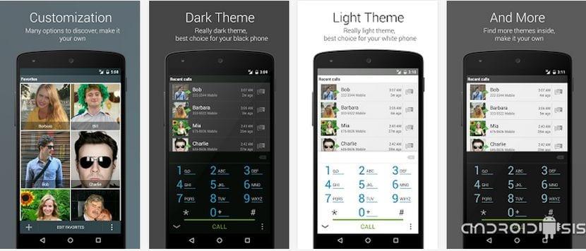 True Phone Dialer & Contacts, uno de los mejores Dialers para Android