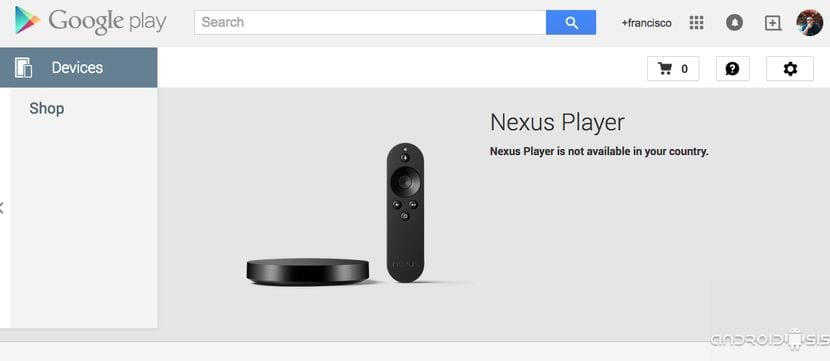 El Nexus Player de Google disponible en Amazon España por 169 Euros