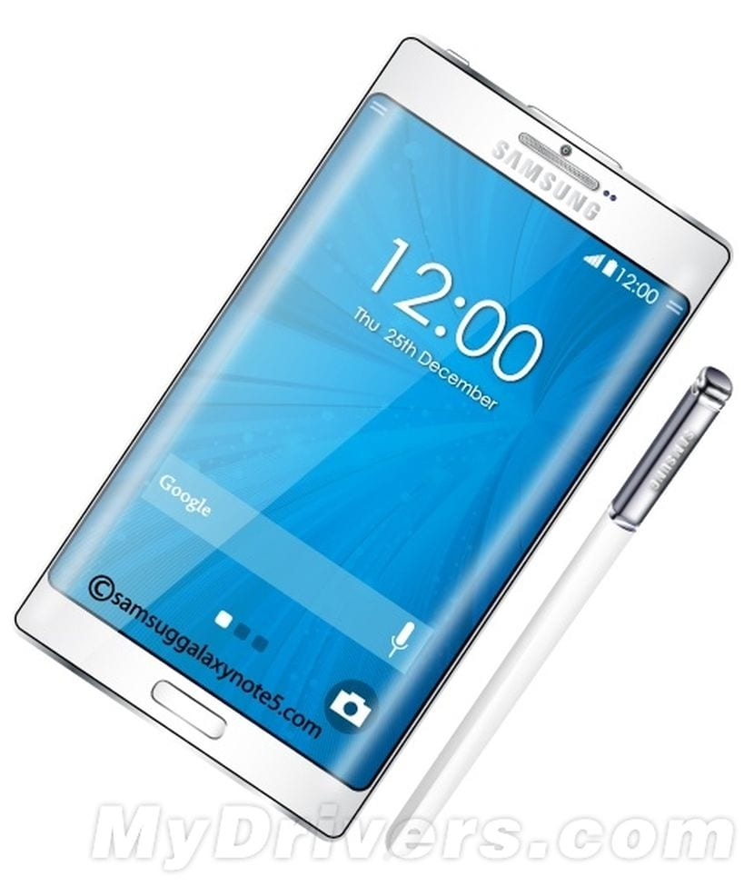 [RUMOR] Samsung Galaxy Note 5 contaría con doble bisel curvo