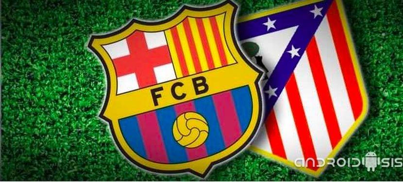 Copa del Rey: F.C.Barcelona vs Atlético de Madrid gratis en tu Android