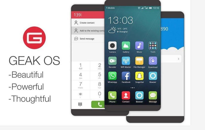 Geak OS disponible en el Play Store y en Español