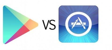 Google Play ya gana en número de aplicaciones al App Store de Apple