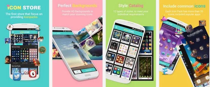 Icon Store, la tienda de iconos para Android