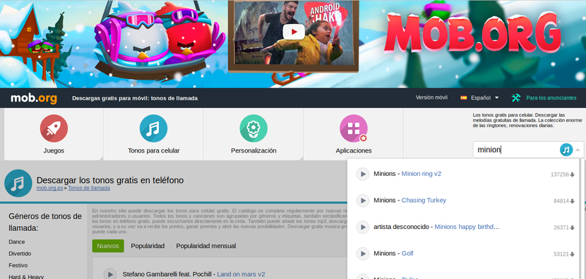 MOB para Android