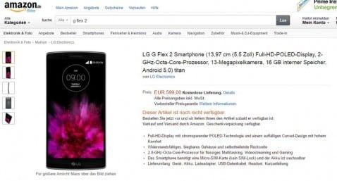 ¡¡SORPRESA!!, Se filtra el precio del LG G Flex 2