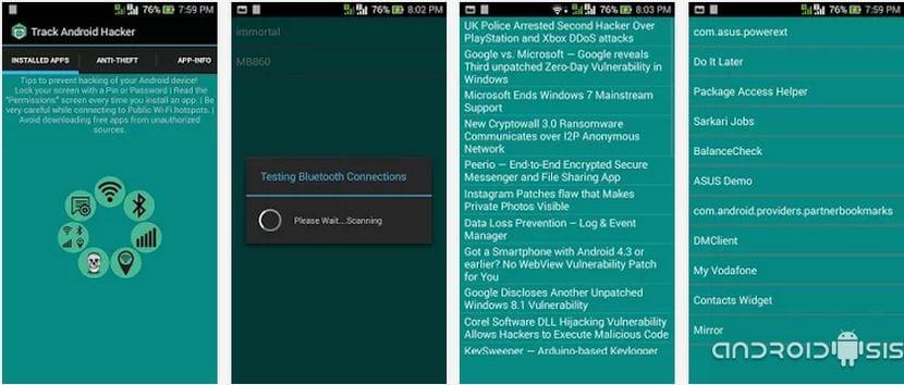 Protege a tu Android de ser Hackeado con Track Android Hacker