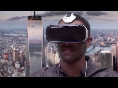 Video thumbnail for youtube video ¿Qué se ve tras las Samsung Galaxy Gear VR?