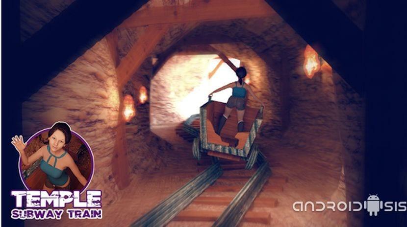 Temple Subway tren el runner para jugar con tranquilidad