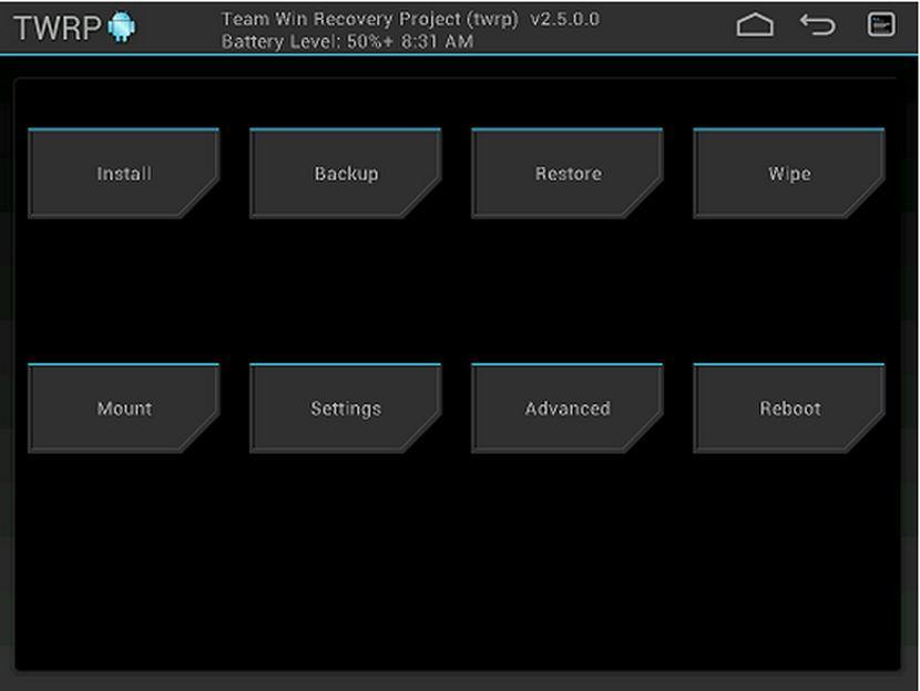 TWRP, el Recovery modificado por excelencia se actualiza a la versión 2.8.4