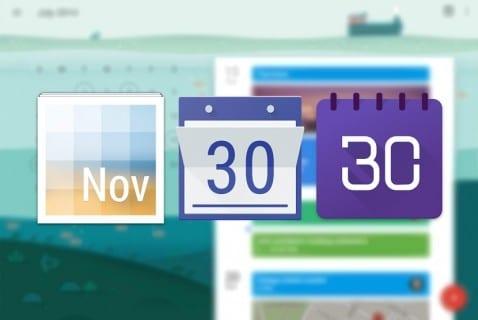 Widget Calendario