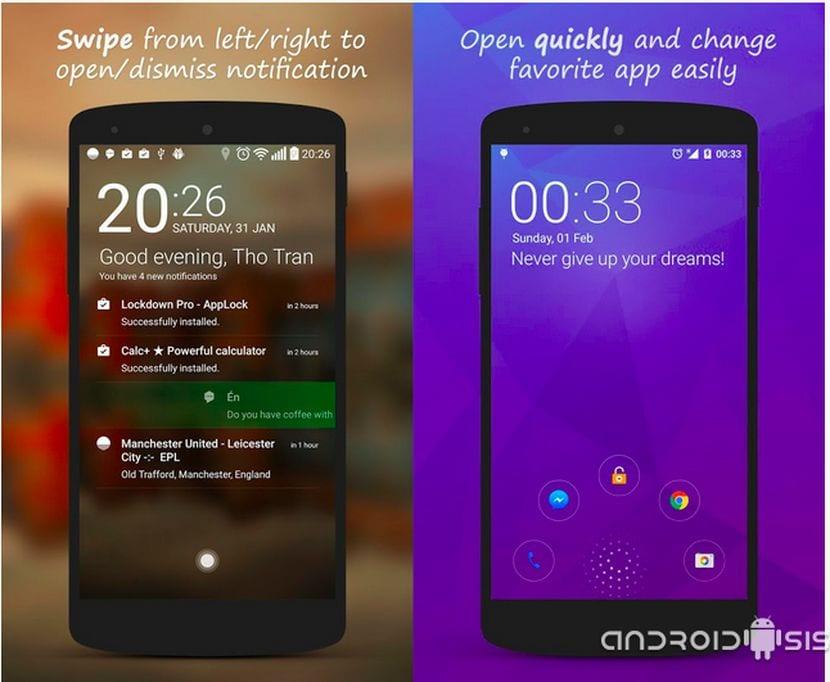 [APK] Hi Locker, el Lock Screen inteligente para Android 4.0+
