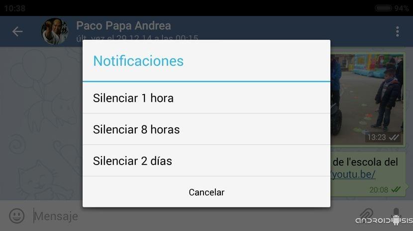 [APK] Telegram 2.4 con nueva opción para silenciar notificaciones y posibilidad de subir archivos de hasta 1,5 Gb