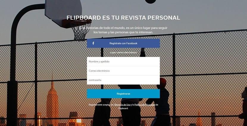 Flipboard web