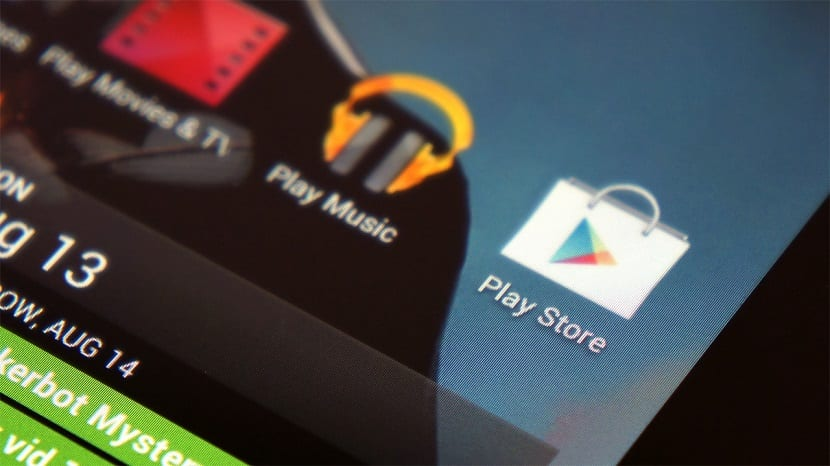 Google Play apps patrocinadas