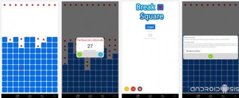 Juegos adictivos para Android: Hoy, Break Square