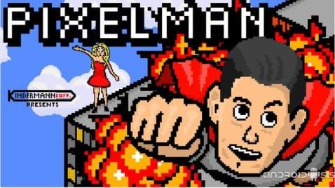 Juegos adictivos para Android: Hoy, Pixelman Free