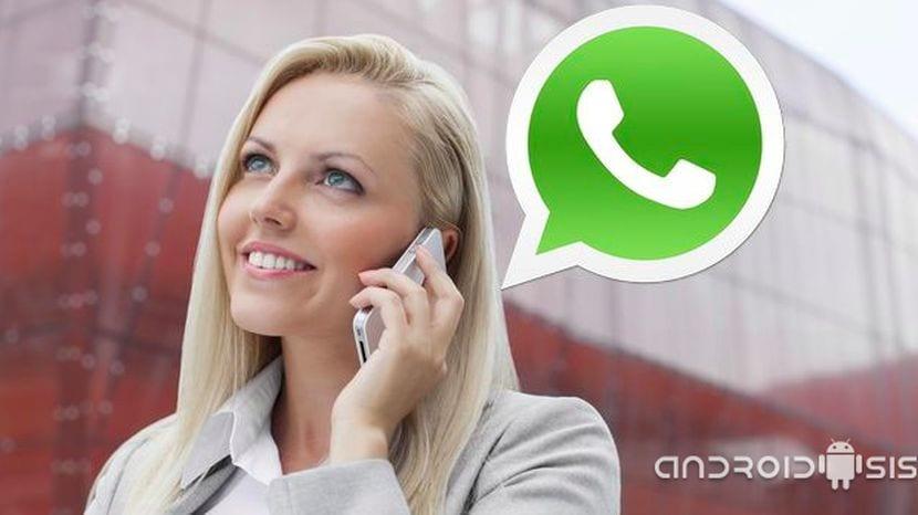 Las llamadas de voz de WhatsApp ya activadas sin necesidad de invitación