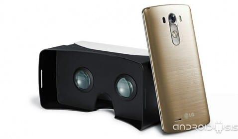LG G3 VR: Las gafas de realidad virtual de LG estarán disponibles el mes que viene de forma gratuita para los que compren un LG G3