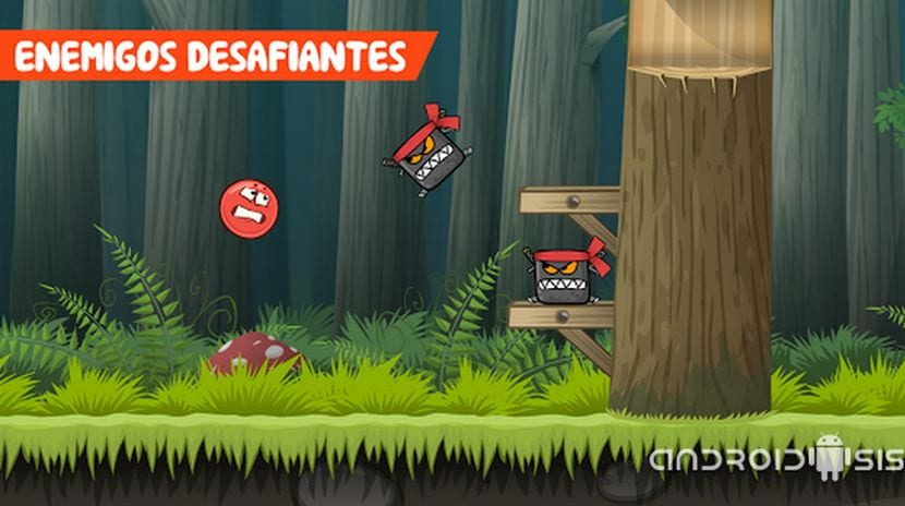 Red Ball 4, un divertido juego plataformas para Android