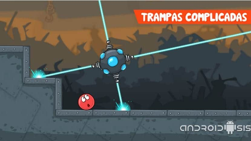 Red Ball 4, un divertido juego plataformas para Android