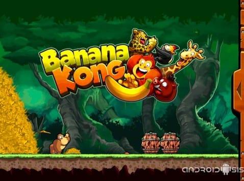 [Video] Banana Kong, salta, brinca, empuja y no te dejes ninguna banana en el camino