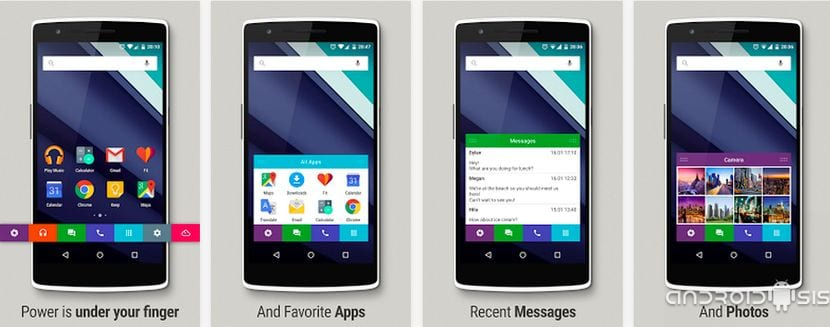 [Vídeo] SlideUp Lollipop Launcher, un Launcher diferente para Android