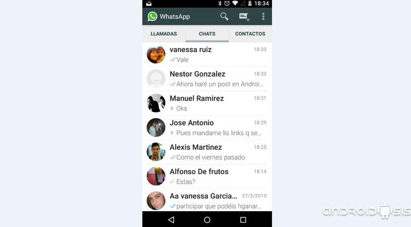 Activa las llamadas de voz de WhatsApp